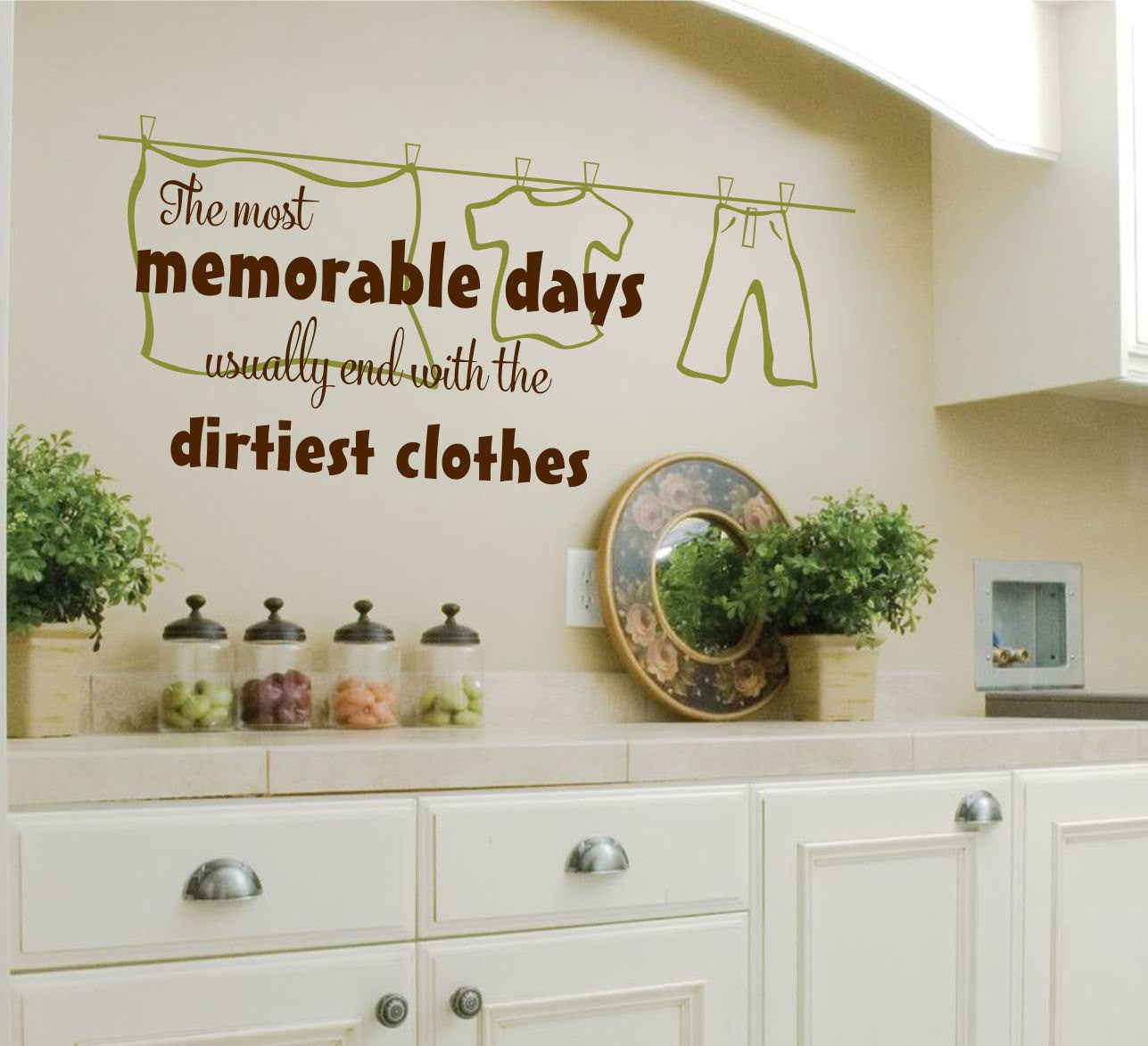 Laundry Room The Most Memorable Vinyl Decal