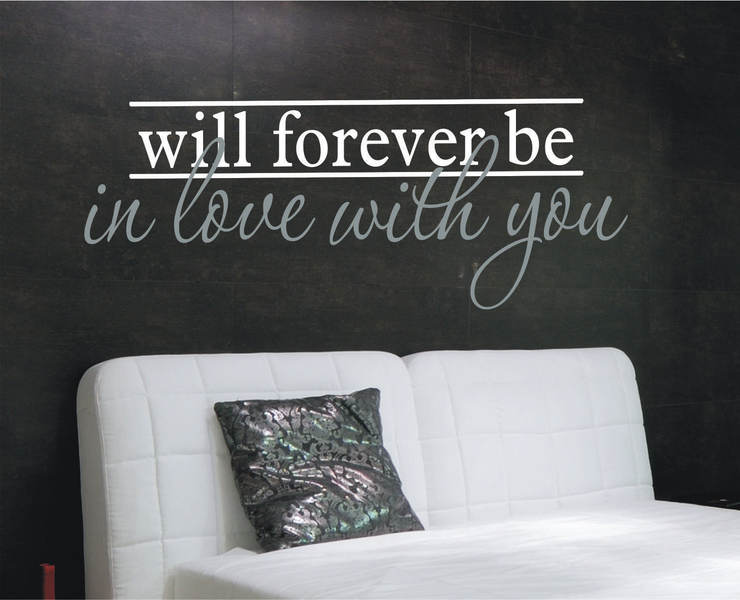 In Love with You Wall Vinyl Decal