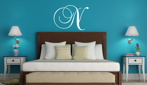 Monogram Vinyl Wall Decal