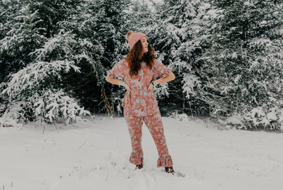 pajama set for the cozy season
