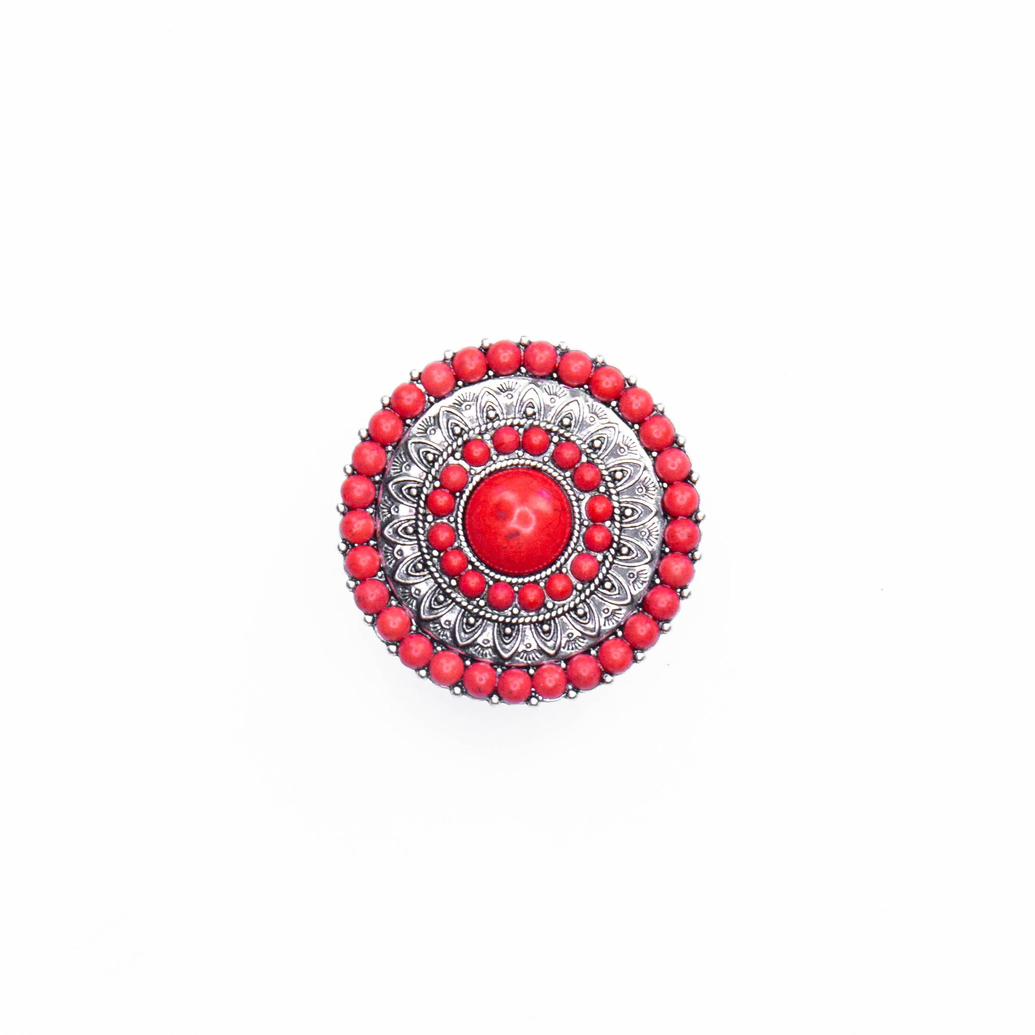 Red Turquoise Pop Socket
