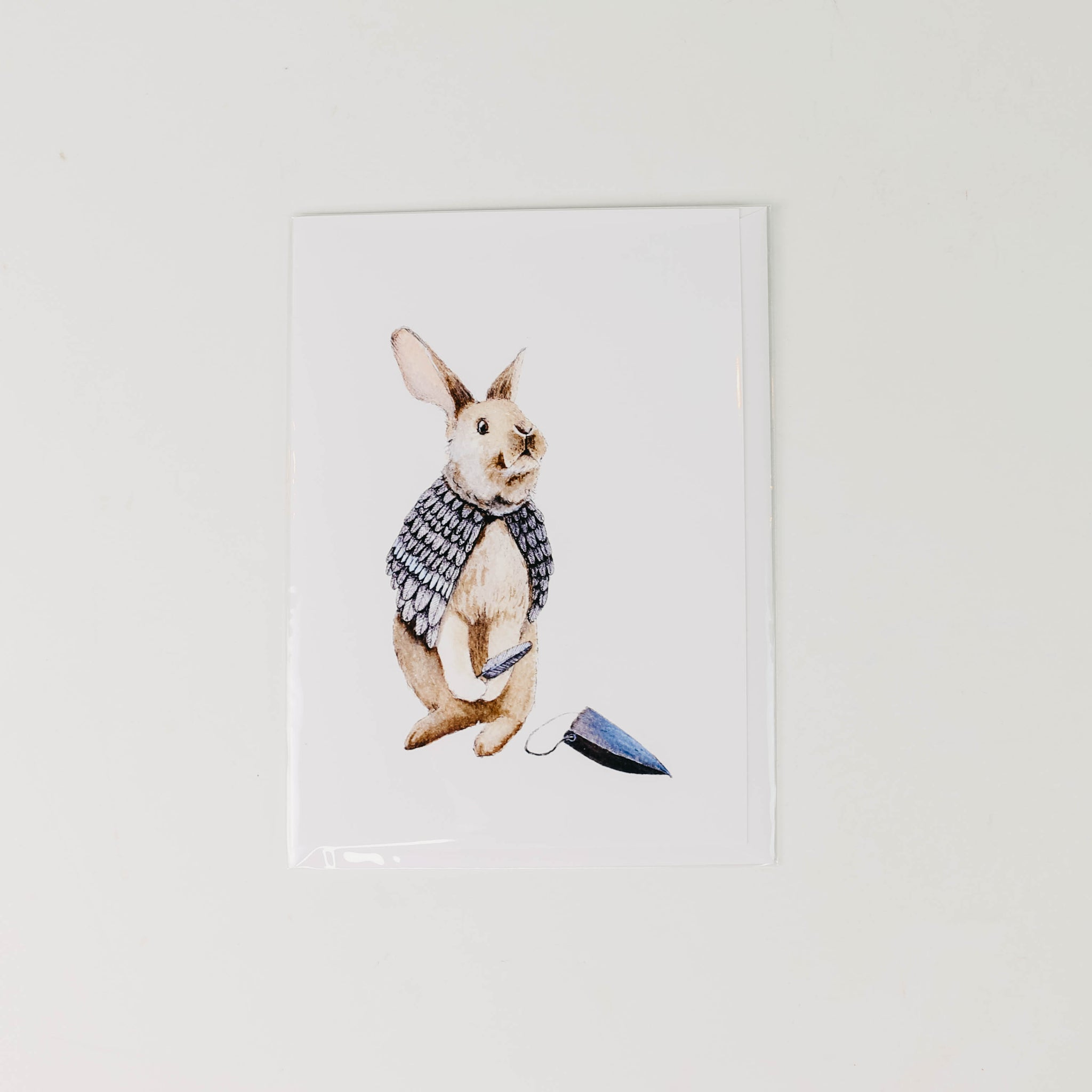Rabbit + Costume Card