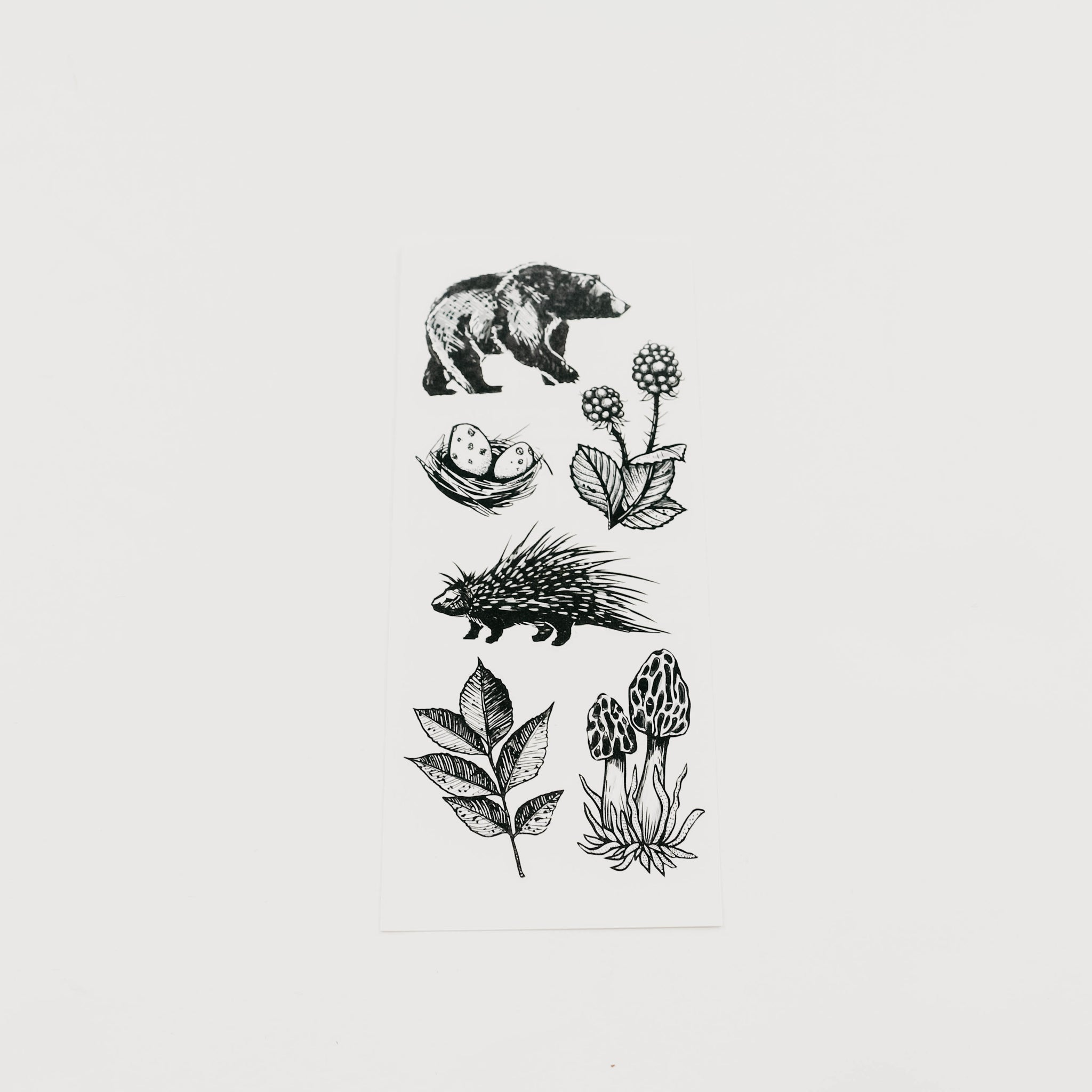 Wild Forest Collection Temporary Tattoo