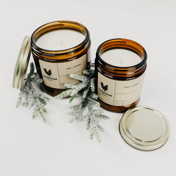 Pine + Cypress Candle