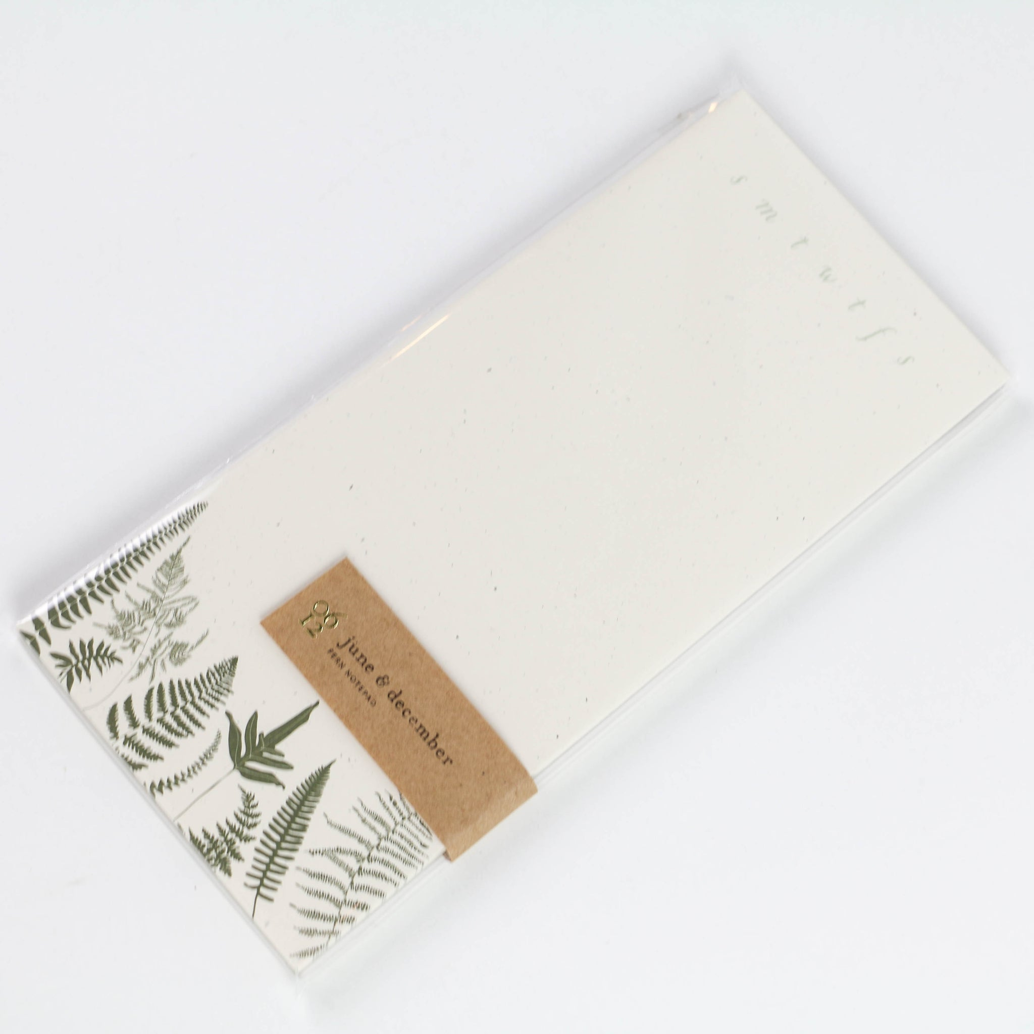 Fern + Fronds Notepad