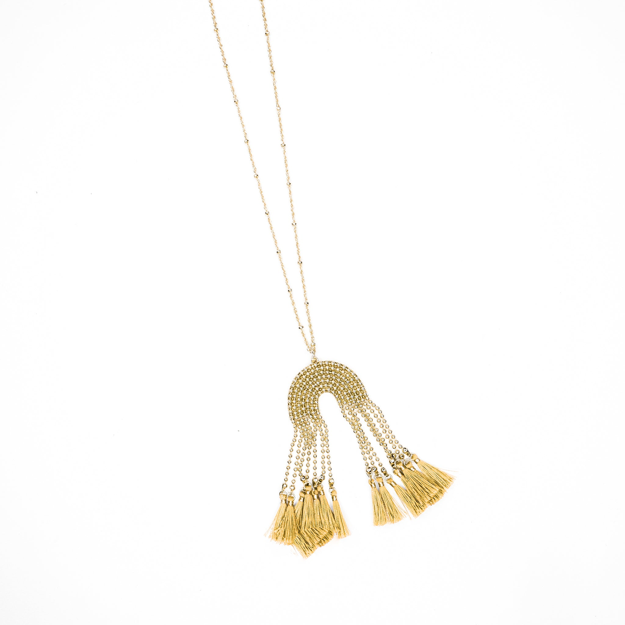 Judie Tassel Necklace