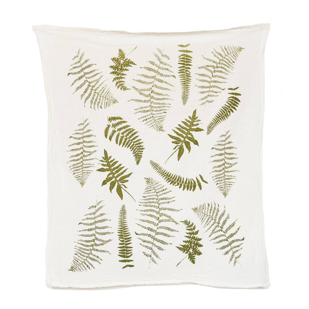 Fern Fronds Tea Towel