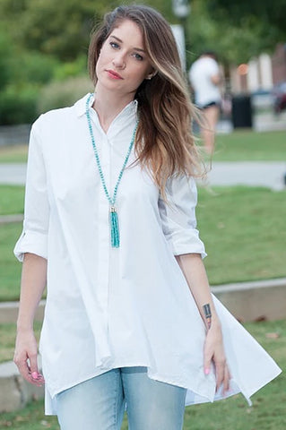 Long Sleeve Shirt with Flare
