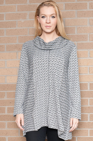 Addison Tunic Grey Top