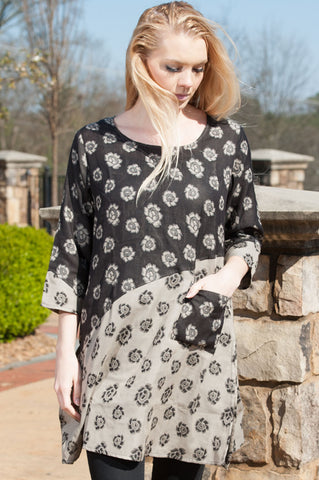 Madison Floral Tunic