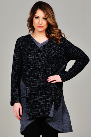 Aurora Two Tone Tunic