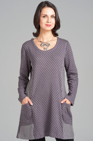 Spot Stripe Tunic