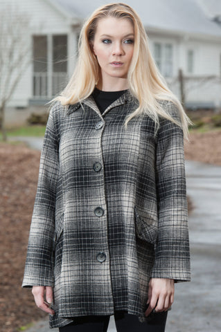 Grace Plaid Jacket