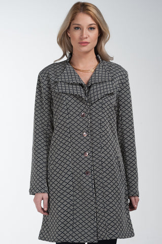 Nora Double Collar Jacket