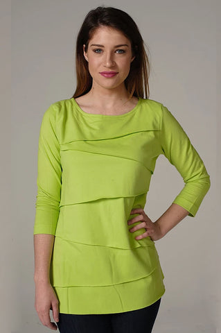 Layer Tier Lime Shirt