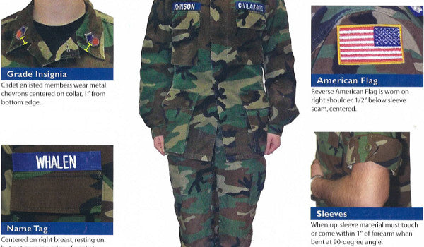 CAP Uniform Specs