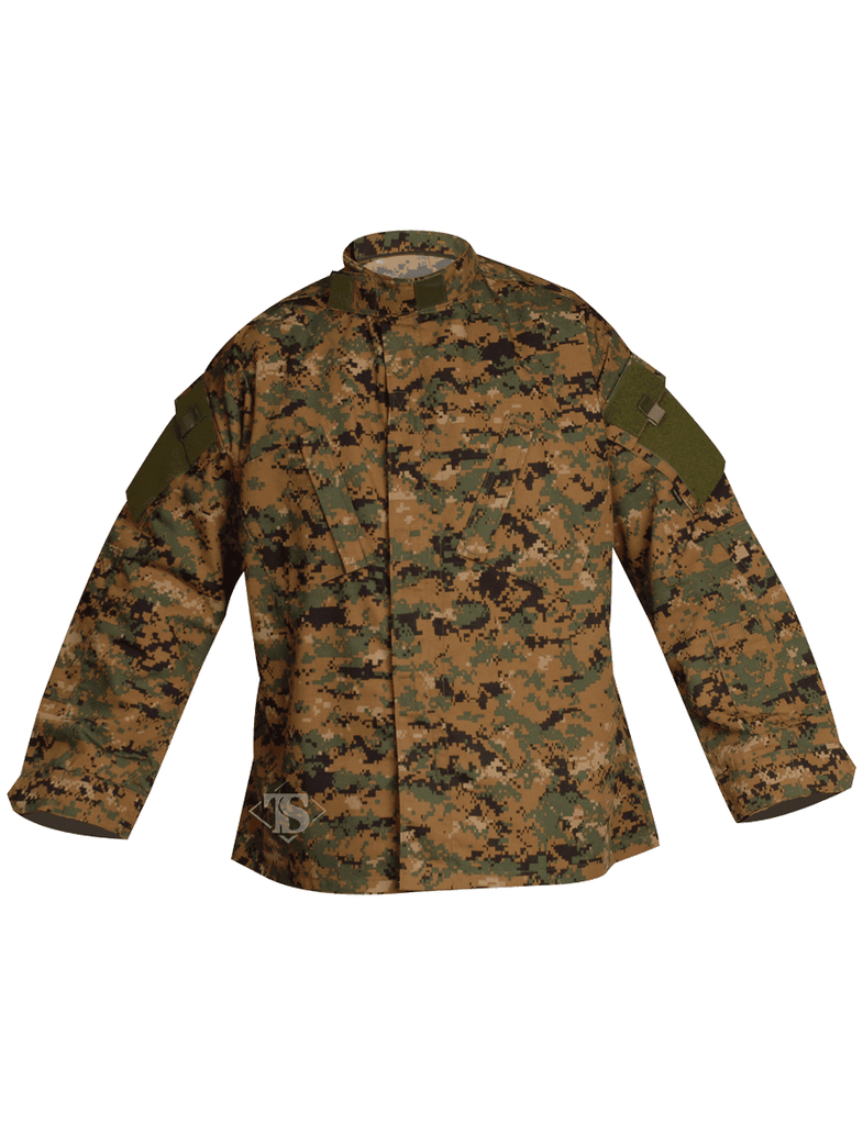 TRU-SPEC® TACTICAL RESPONSE UNIFORM® (T.R.U.®) SHIRTS-Woodland Digital (1267)