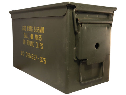 50 Cal. Ammo Can (Used) - Surplus