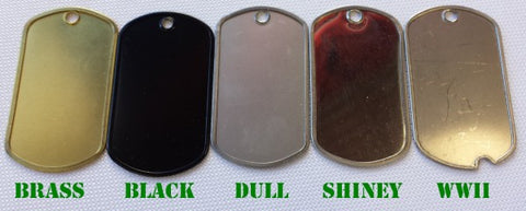 Dog Tags - Custom