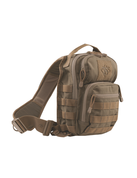 BACKPACK, COY TAN TREK SLING