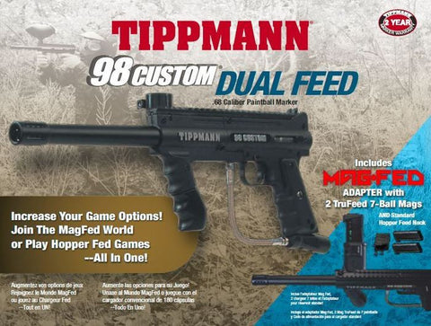 Tippmann 98 Custom Platinum Series Dual Feed