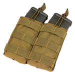 Condor Double M4/M16 Open Top Mag Pouch (MA19)
