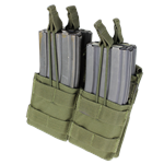 Condor Double Stacker M4 Open-Top Mag Pouch (MA43)