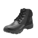ALTAI™ 6″ Side Zip Black Uniform Boots-low top (Model: MFT100-ZS)