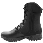 ALTAI™ 8″ Side Zip Black Tactical Boots (Model: MFT100-Z)