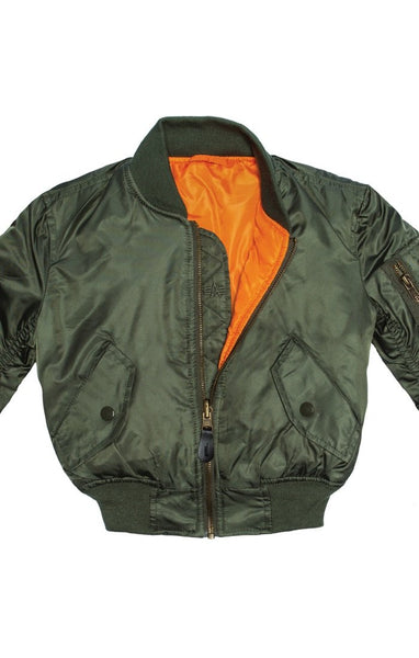 Youth MA-1 JACKET (YJM21002C1)