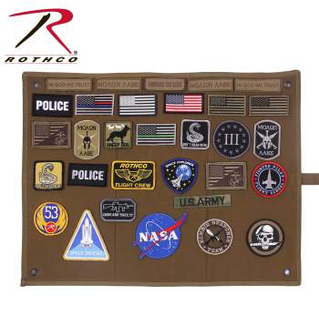 Rothco Hanging Roll-Up Morale Patch Board (9010)