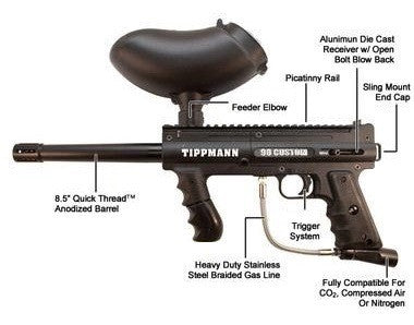 Tippmann 98 Custom Platinum Series ACT Basic