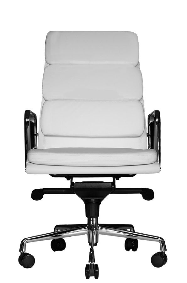 Clyde Highback Chair (White)