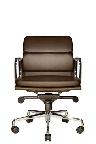 Clyde Lowback Chair (Brown)