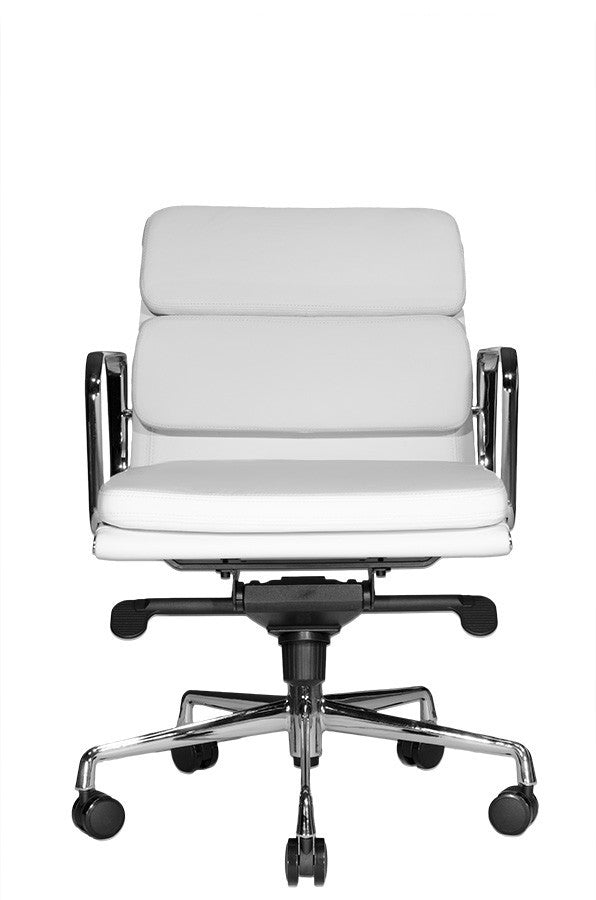 Clyde Lowback Chair (White)