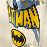 Vintage 1966 Pepsi Superhero Batman Glass