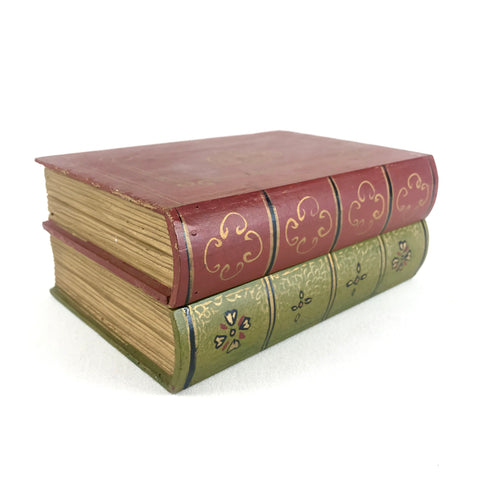 Decorative Wooden Hollow Stacked Book Box
