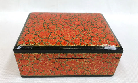 Vintage Orange Flower India Trinket Box at The Mart Collective in Venice LA, CA