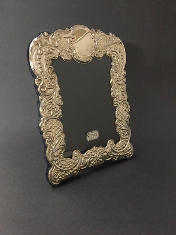 Sterling English Hallmarked Photo Frame - not old.  The Mart Collective Venice Los Angeles, CA.