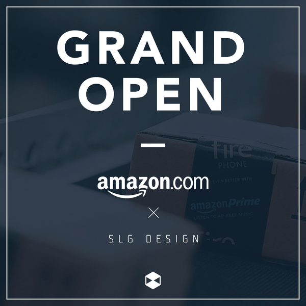 GRAND OPEN on Amazon