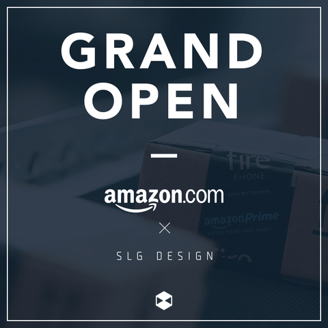 slg_design_grand_open_on_amazon_us