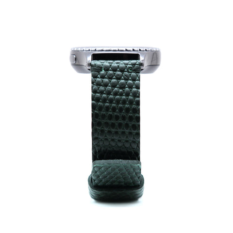 D3 Italian Lizard Leather Strap for Gear S2 Green