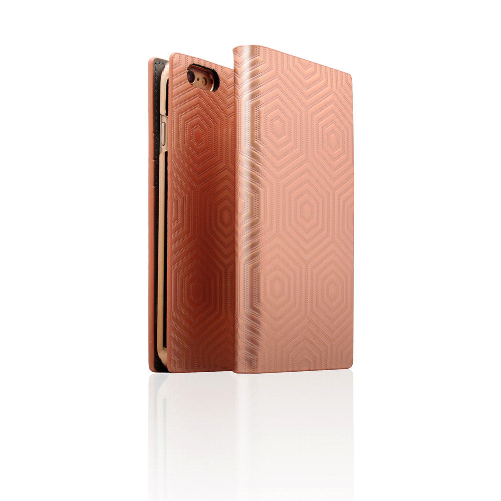 D4 Metal Hologram for iPhone 6/6s Plus Rose Gold