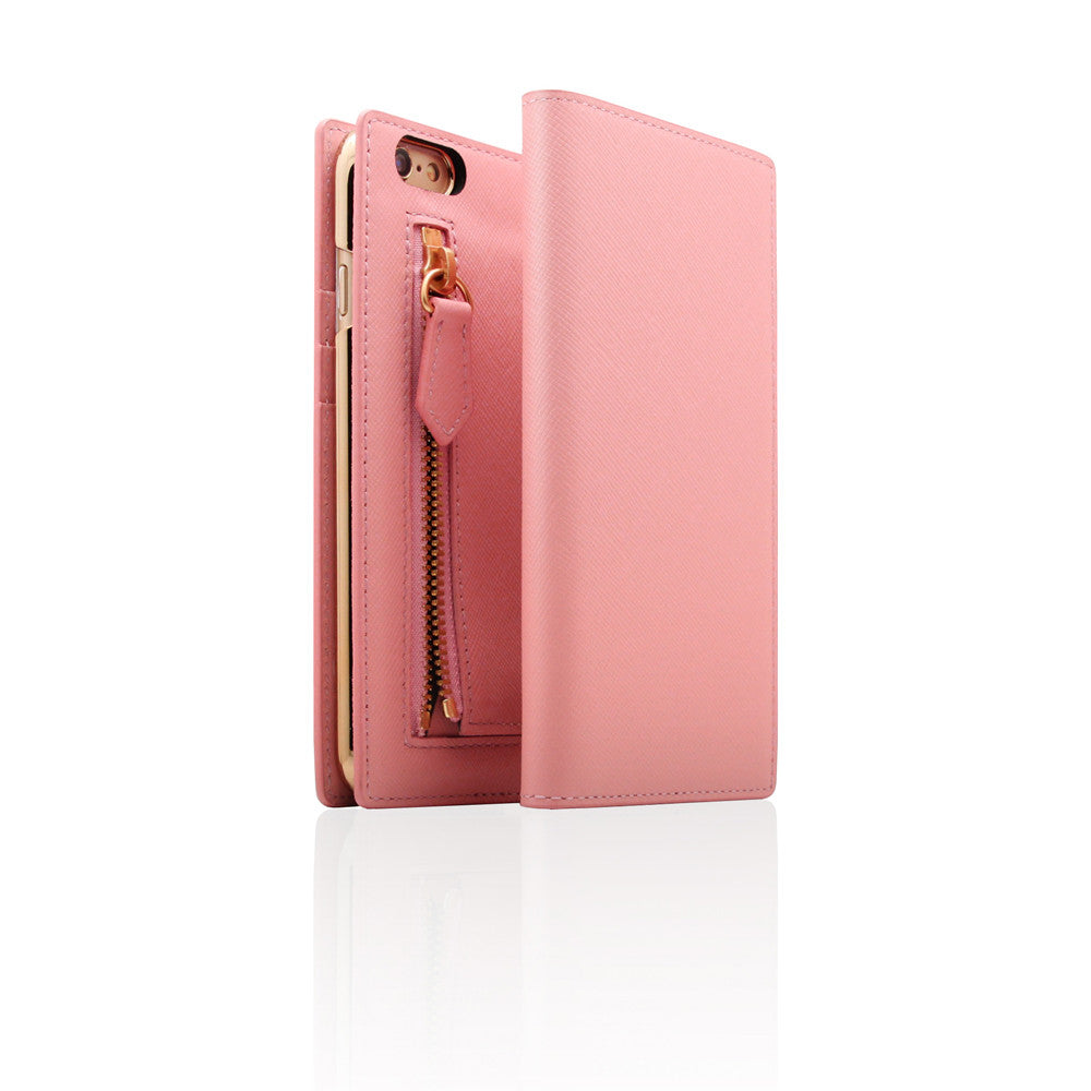 D5 CSL Zipper Case for iPhone 6/6s Plus Baby Pink