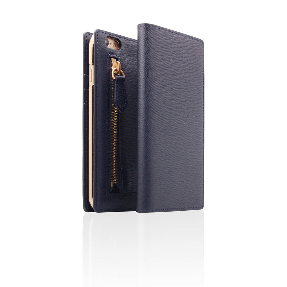 D5 CSL Zipper Case for iPhone 6/6s Plus Navy