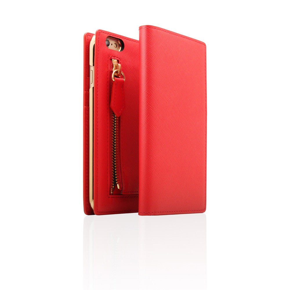 D5 CSL Zipper Case for iPhone 6/6s Red
