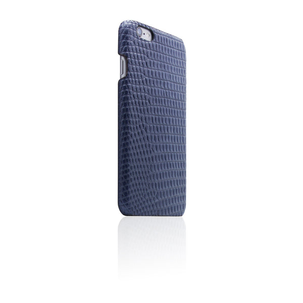 D3 Italian Lizard Leather Back Case for iPhone 6/6s Blue