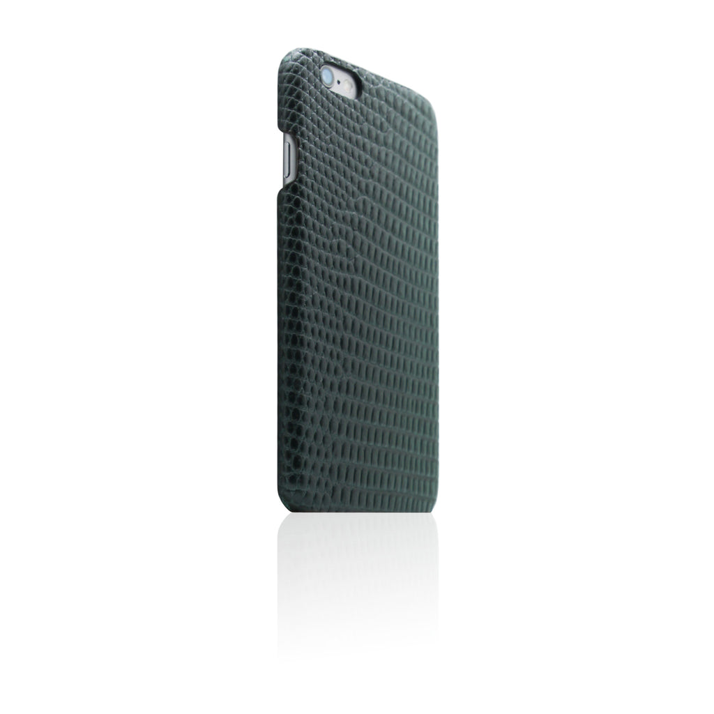 D3 Italian Lizard Leather Back Case for iPhone 6 / 6s Green