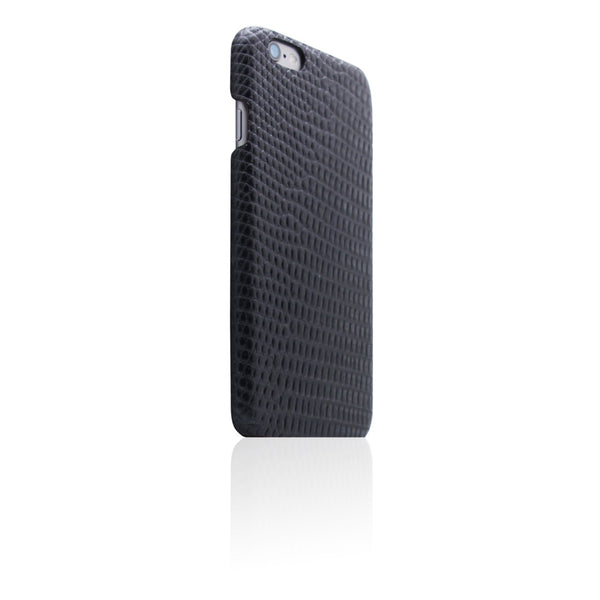 D3 Italian Lizard Leather Back Case for iPhone 6/6s Plus Black