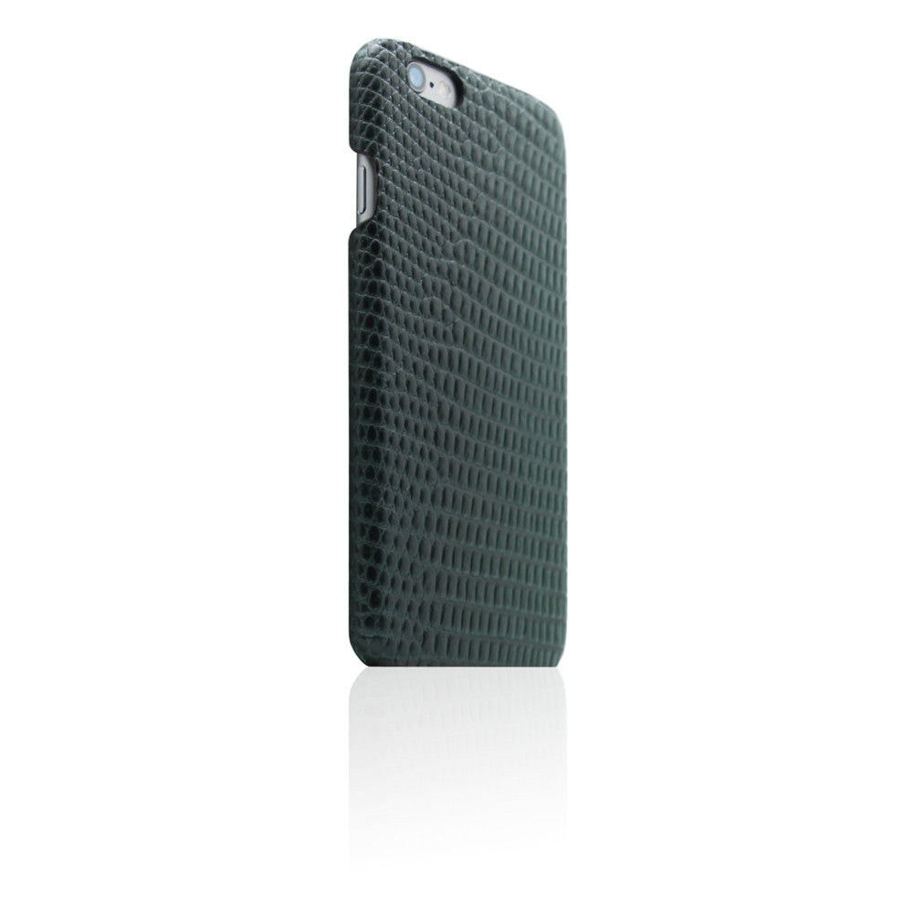 D3 Italian Lizard Leather Back Case for iPhone 6 / 6s Plus Green